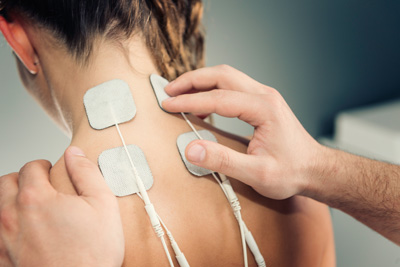 Elektrotherapie Fundeis Praxis Physiotherapie
